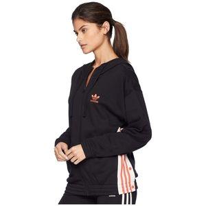 Adidas Adibreak L Trefoil Logo Zip Up Hoodie